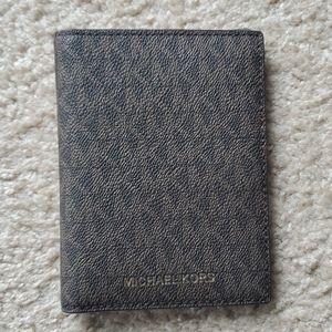 Michael Kors passport wallet